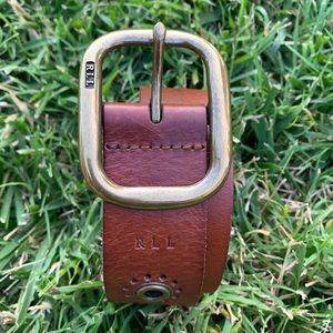 •RALPH LAUREN• Genuine Leather Belt